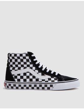 Sk8 Hi Reissue Black/White Checkerboard by Vans
