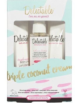 Online Only Triple Coconut Cream by Delectable