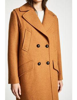 Henley Wool Blend Coat by Jack Wills