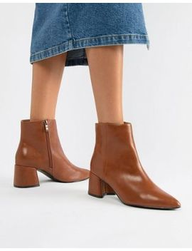 Park Lane Block Heel Ankle Boots by Boots