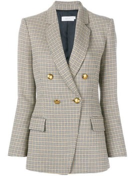 Double Breasted Checked Blazer by A.L.C.