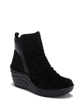 Richfield Suede Wedge Boot by Bionica
