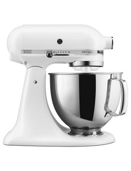 Kitchen Aid Artisan Series 5 Quart Tilt Head Stand Mixer, Matte White (Ksm150 Psfw) by Kitchen Aid