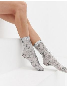 Asos Design Snake Socks by Asos Design