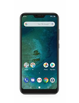 Xiaomi Mi A2 Lite   D1 S (Dual Sim) With 4 Gb Ram And 64 Gb Storage 5.84 Inch Android 8.1 Uk Version Sim Free Smartphone   Black (Official Uk Launch) by Xiaomi