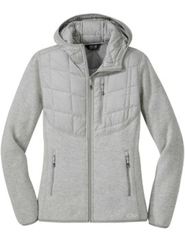Outdoor Research   Vashon Hyrbrid Full Zip Jacket   Women's by Outdoor Research