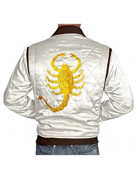 Bling Soul White Lightweight Bomber Jackets For Men by Bling Soul