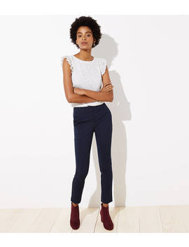 Velvet Dot Skinny Ankle Pants In Marisa Fit by Loft