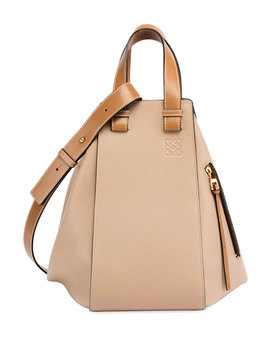 Hammock Two Tone Leather Bag by Loewe