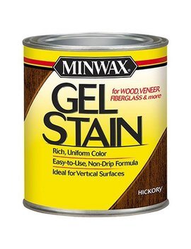 Minwax 261004444 Interior Wood Gel Stain, 1/2 Pint, Hickory by Minwax