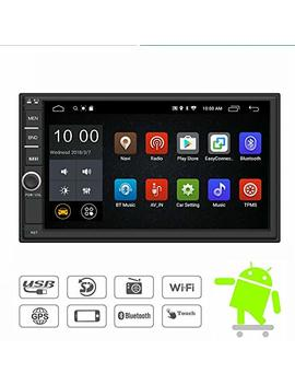 Yody Android Double Din Car Stereo Radio 7 Inch Touch Screen In Dash Gps Navigation Support Wi Fi Bluetooth Mirror Link Swc Obd With Free Backup Camera by Yody
