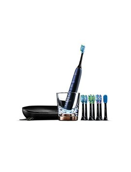 Philips Sonicare Diamond Clean Smart Electric, Rechargeable Toothbrush For Complete Oral Care, With Charging Travel Case, 5 Modes, And 8 Brush Heads  – 9700 Series, Lunar Blue, Hx9957/51 by Philips Sonicare