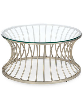 Casey Coffee Table, Quick Ship by Blush & Brass