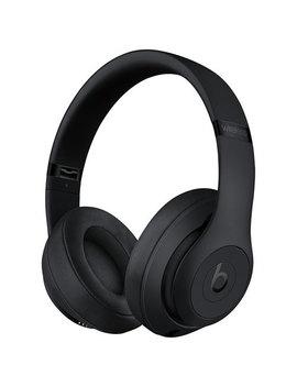 Casque D'écoute Bluetooth à Suppression Du Bruit Studio 3 De Beats By Dr. Dre   Noir by Apple