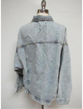 (Nwot Urban Outfitters Bdg '80s Denim Trucker Jacket, Sz L(As Is) by Bdg