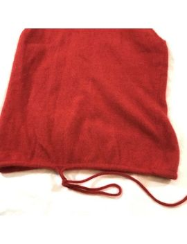 Co Operative Urban Outfitters Sweater Red Angora Lambswool Size Medium by Urban Outfitters