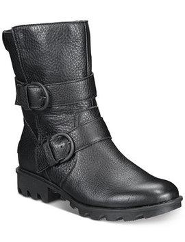 Women's Phoenix Moto Boots by Sorel