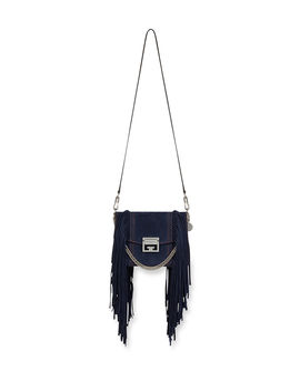 Gv3 Small Fringe Shoulder Bag by Neiman Marcus