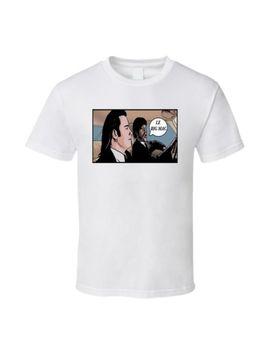 Le Big Mac, Pulp Fiction, Jhon Travolta Samuel L Jackson T Shirt by Alstyle Apparel