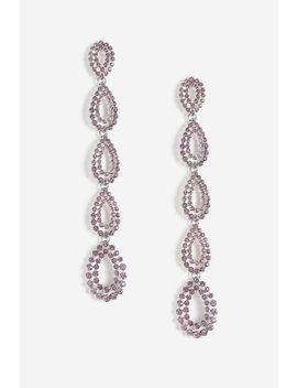 Stone Oval Link Drop Earrings by Topshop