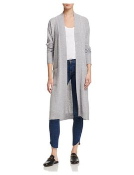 Long Open Cashmere Cardigan   100 Percents Exclusive by Aqua Cashmere