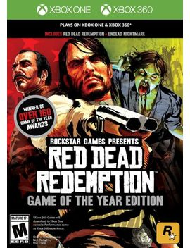 Red Dead Redemption Goty  (Xbox One & 360, 2011) (0071)    Free Shipping Usa by Ebay Seller