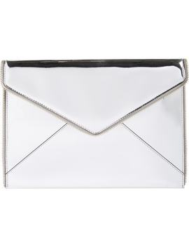 Leo Mirror Metallic Clutch by Rebecca Minkoff