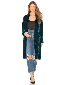 Albany Velvet Duster by Cupcakes And Cashmere