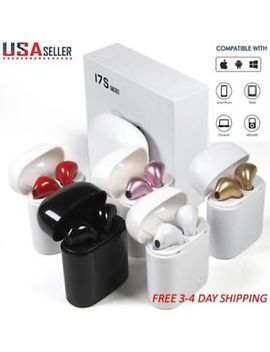 Mini I7 S Tws Twins Wireless Bluetooth Earbuds In Ear Earphone For I Phone Samsung by Unbranded/Generic