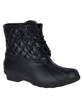 Women's Saltwater Quilted Luxe Duck Boot by Sperry