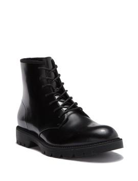 Fenton Box Leather Boot by Calvin Klein