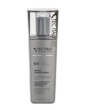 Tec Italy Riccioli Leave In Cream Curl Definition Enhancer & Moisturizer   300ml by Tec Italy