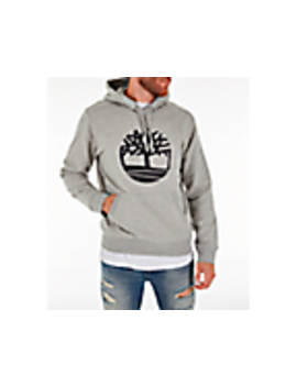 Men's Timberland Big Tree Logo Hoodie by Timberland