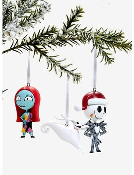 The Nightmare Before Christmas Ornament Trio by Hot Topic