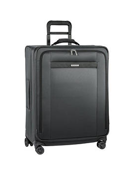 """Transcend Vx Medium 26"""" Expandable Checked Spinner Luggage by Briggs & Riley"""