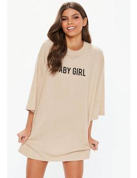 Camel Baby Girl Night T Shirt by Missguided