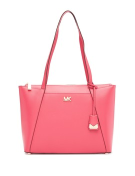 Maddie Leather Tote Bag by Michael Michael Kors