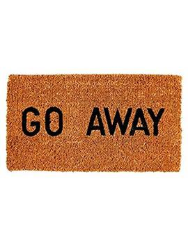 Kempf Go Away Doormat, 16 By 27 By 1 Inch by Kempf