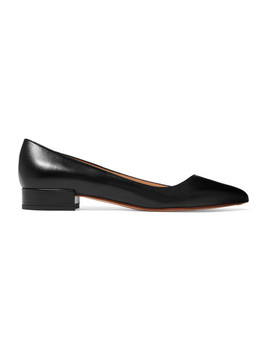 Leather Ballet Flats by Francesco Russo