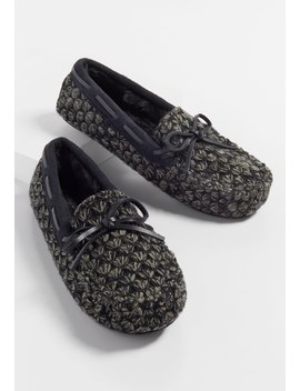 Harlow Chunky Knit Slipper Moccasin by Maurices