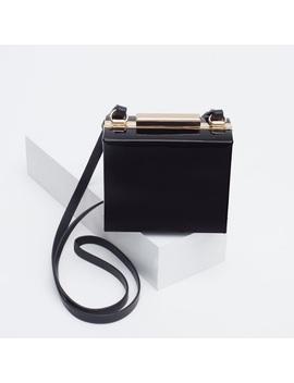 Patent Leather Box Clutch From Zara. New!Nwt by Zara