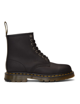 Black Wintergrip 1460 Boots by Dr. Martens