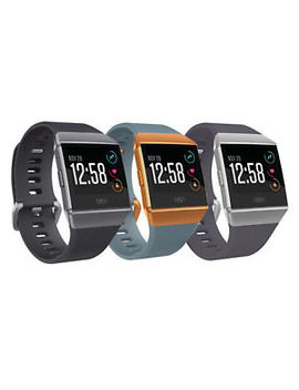 Fitbit Ionic Smartwatch Fitness Activity Tracker One Size (S&L Bands Included) by Fitbit