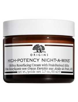 High Potency Night A Mins Resurfacing Cream With Fruit Derived Ah As by Origins