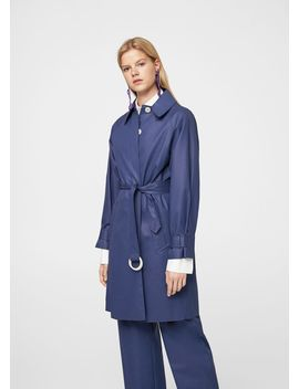 Belt Coated Trench by Mango