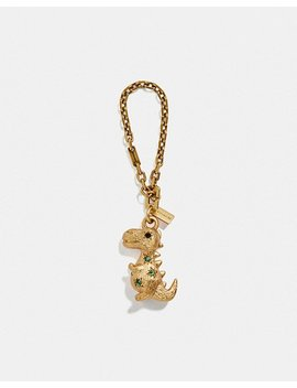 Jeweled Rexy Bag Charm by Coach