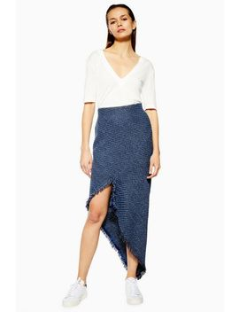 **Tweed Spiral Skirt By Boutique by Topshop