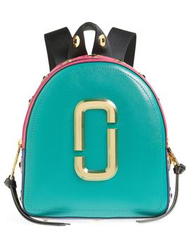 Pack Shot Buttons Leather Backpack by Marc Jacobs