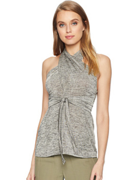 Tank With Wrap Neck And Tie by Bcbgmaxazria