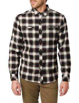 Jasper Trim Fit Flannel Shirt by 7 Diamonds